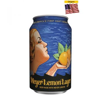 Cerveja Anchor Meyor Lemon Lager 355 ml - Lata