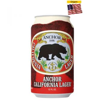 Cerveja Anchor California Lager 355 ml - Lata