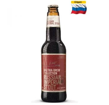 Cerveja Baltika Russian imperial Stout 440 ml