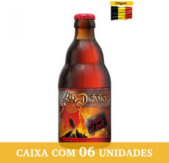 Cerveja Diabolici Fruits of Hell 330 ml - Caixa com 6