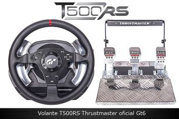 VOLANTE T500RS Thrustmaster, PS3, PS4 e PC.