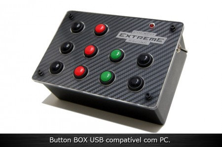 Button Box 10 USB para PC  - foto principal 1