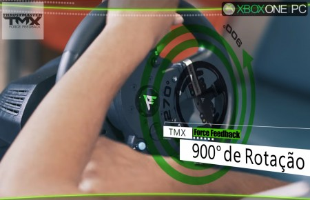 Volante Thrustmaster TMX Force Feedback Xbox One/PC  - foto principal 1