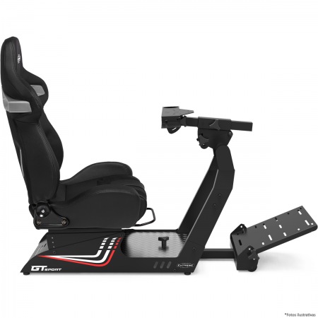 Cockpit GT Sport Extreme Racing - Chassis PRETO  - foto principal 1