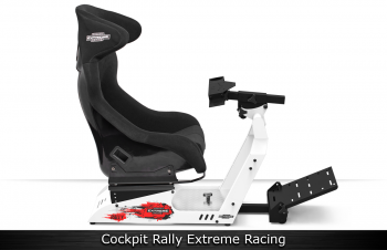 Cockpit Rally Extreme Racing - Chassis Branco