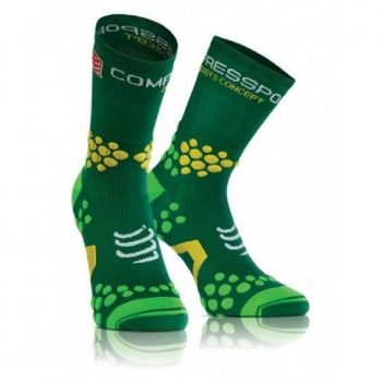 Meia Compressport Pro Racing Socks V2.1 Trail HI