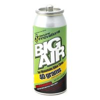 Refil de Ar Comprimido Co2 GENUINE INNOVATIONS BIG AIR 40gr com Rosca