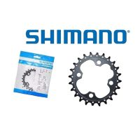 Coroa Engrenagem Shimano Deore FC-M617 24T Pcd 64mm