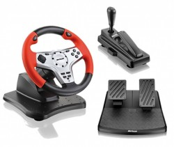 Volante p/ PS3 e PC Multilaser Rally JS065  - foto 4