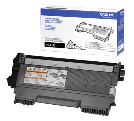 Toner Preto Brother TN450 - Original