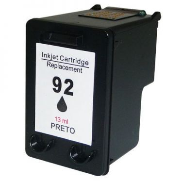 Cartucho HP 92 (C9362WB) Preto - Renew
