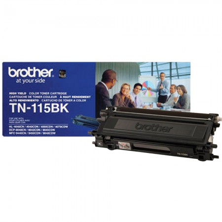 Cartucho toner TN-115BK Brother – Original
