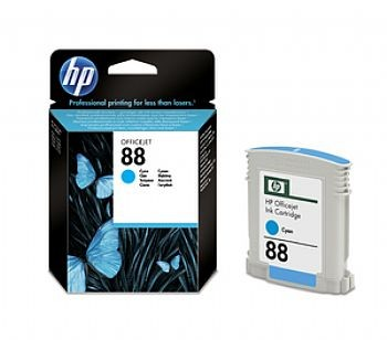 HP 88 Cartucho Ciano (C9386AL) - Original