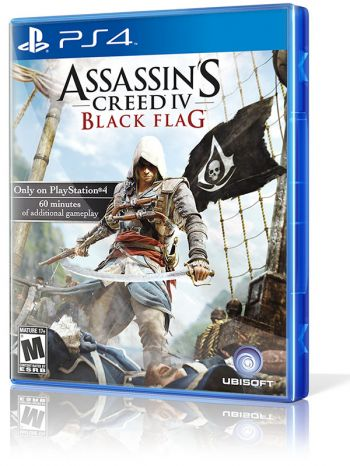 Assassins Creed IV: Black Flag - PS4 (Usado disponível na 215 Sul)