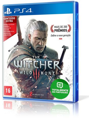 The Witcher 3: Wild Hunt - PS4 (Edição Completa)
