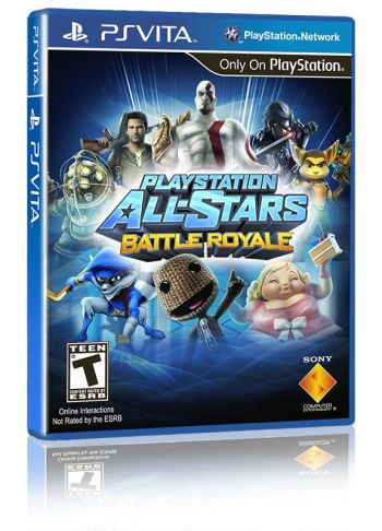 Playstation All-Stars Battle Royale - PS VITA