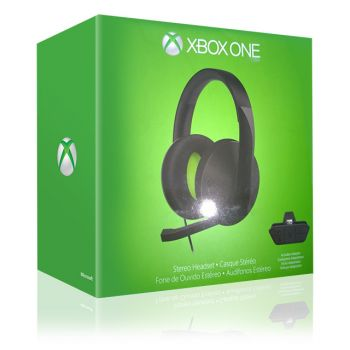 Stereo Headset (Preto) - Xbox One