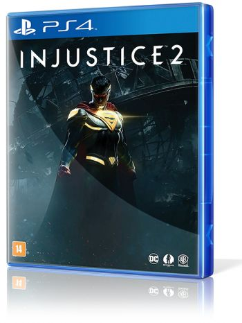 Injustice 2 - PS4 + Blu-Ray Liga da Justiça Sombria