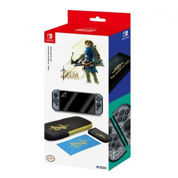 Starter Kit - Zelda Breath of the Wild (Oficial) - Nintendo Switch