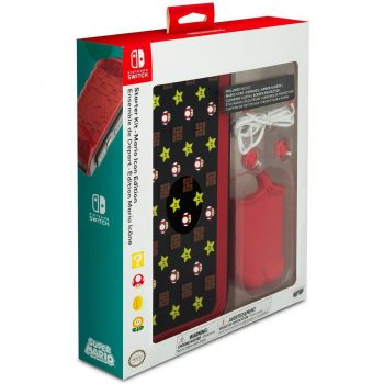 Starter Kit - Mario Icon Edition (Oficial) - Nintendo Switch