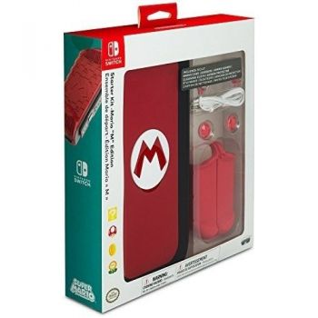 Starter Kit - Mario ''M'' Edition (Oficial) - Nintendo Switch