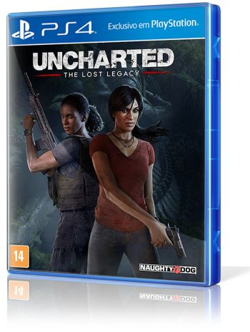 Uncharted: The Lost Legacy - PS4 (R$ 99,90 em dinheiro na 215 Sul)