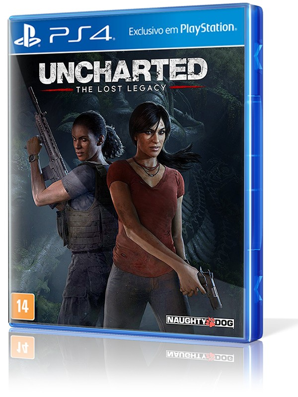 Uncharted: The Lost Legacy - PS4 (R$ 99,90 em dinheiro na 215 Sul)  - foto principal 1