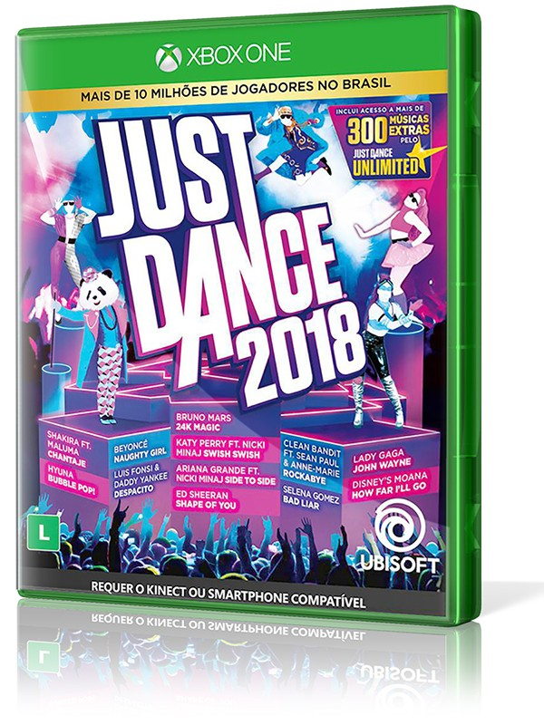 Just Dance 2018 - XBOX One  - foto principal 1