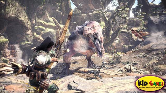 Monster Hunter World - PS4  - foto principal 1