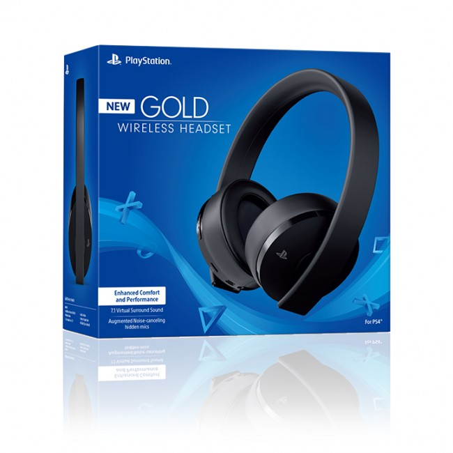 New Gold Wireless Head Set 7.1 - Sony  - foto principal 1