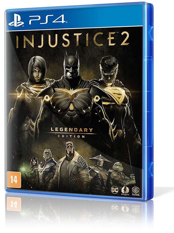 Injustice 2 (Legendary Edition) - PS4  - foto principal 1
