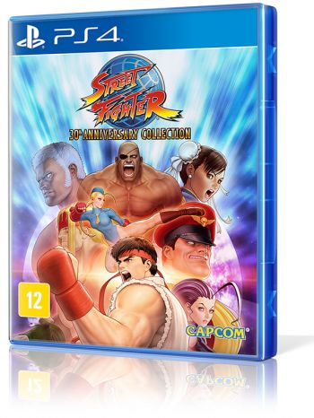 Street Fighter: 30th Anniversary Collection - PS4 (Usado disponível na 215 Sul)