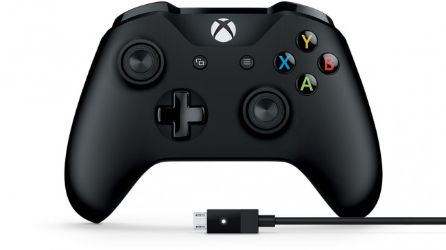 Controle (preto) Xbox One + cabo para Windows  - foto principal 1