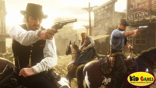Red Dead Redemption 2 - PS4  - foto principal 1