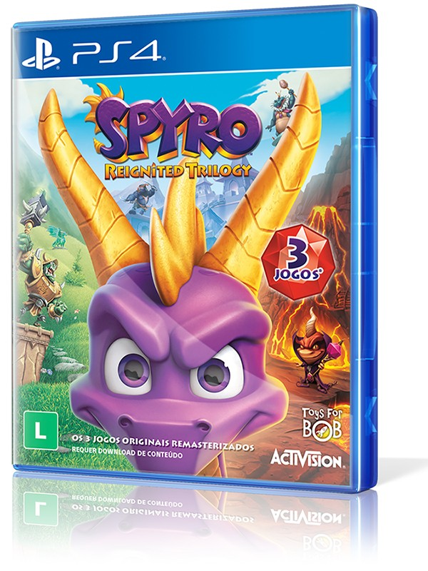 Spyro Reignited Trilogy - PS4  - foto principal 1