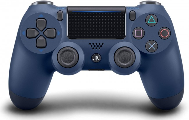 Controle Dualshock 4: Midnight Blue - PS4  - foto principal 1