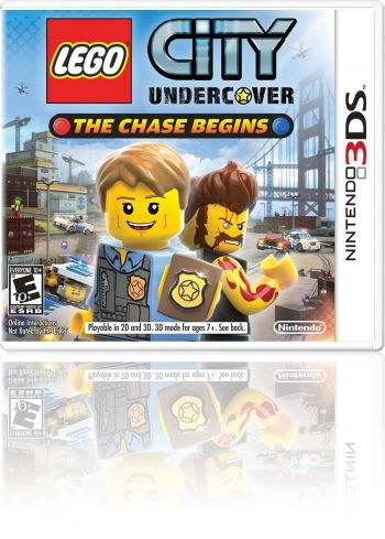 LEGO City Undercover: The Chase Begins - 3DS (Usado disponível na 215 Sul)