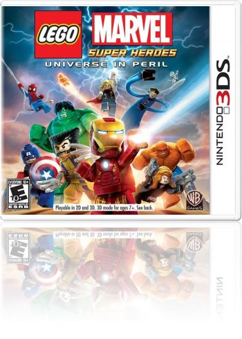 LEGO Marvel Super Heroes: Universe in Peril - 3DS