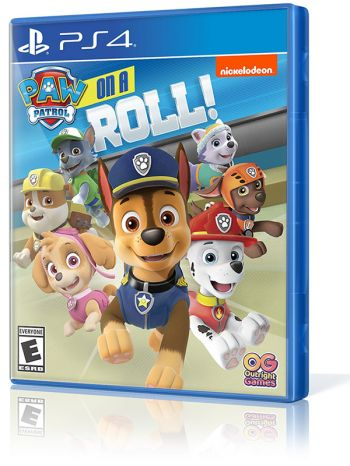 Patrulha Canina (Paw Patrol): On a Roll - PS4