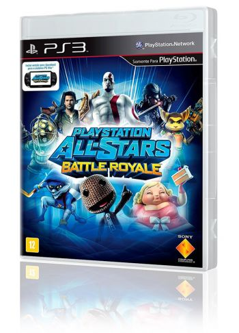 PlayStation All-Stars Battle Royale - PS3 (Usado, disponível na 215 Sul)