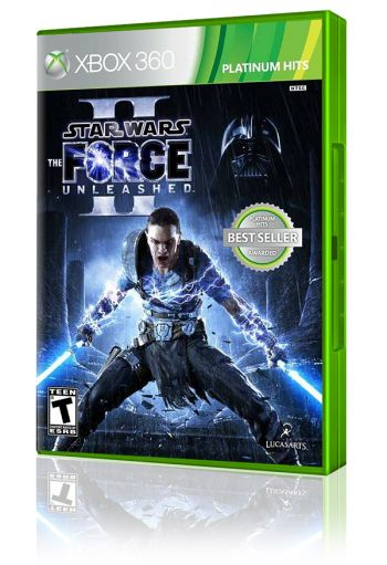 Star Wars: The Force Unleashed II - XBOX 360 (Usado disponível na 215 Sul)
