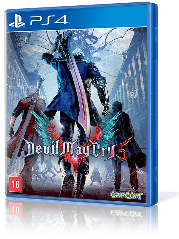 Devil May Cry 5 - PS4  - foto principal 1