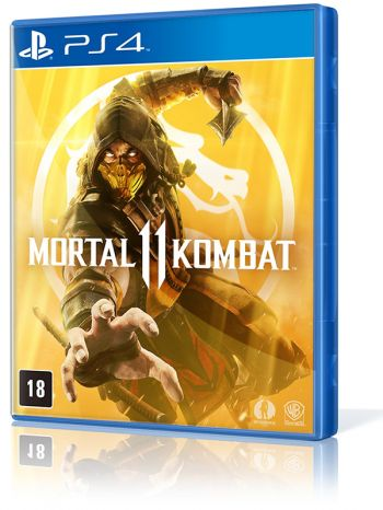 Mortal Kombat 11 - PS4 (Pronta entrega)