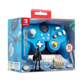 Controle Com Fio USB Wired Fight Pad Zelda PDP - Switch / PC