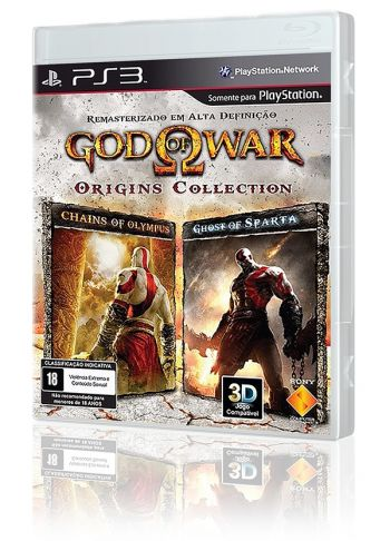 God of War Origins Collection - PS3 (Usado disponível na 215 Sul)