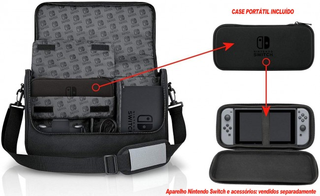 Bolsa Nintendo Switch Everywhere Messenger Bag + Case  - Nintendo Switch  - foto principal 1