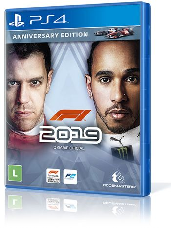 F1 2019 Anniversary Edition - PS4 (Pronta entrega)