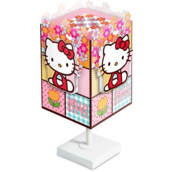 ABAJUR STARTEC HELLO KITTY FLORAL