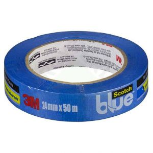 Fita Crepe Blue Tape 2090 (18mm x 50m) 3M