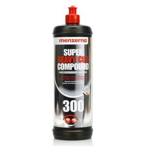 Super Heavy Cut Compound 300 - Composto Polidor de Corte Agressivo - Menzerna (1Litro) NOVO!